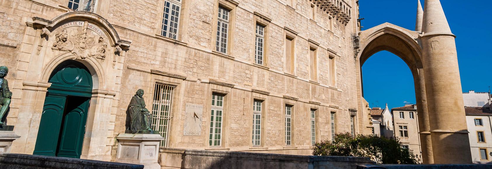 La faculté de médecine montpelliéraine : fondement du rayonnement de la ville de Montpellier à l'international